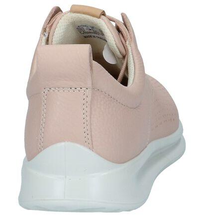 Ecco Baskets basses en Rose clair en cuir (221022)