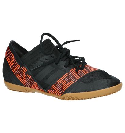 adidas Nemeziz Tango Chaussures de Foot en Noir en simili cuir (208206)