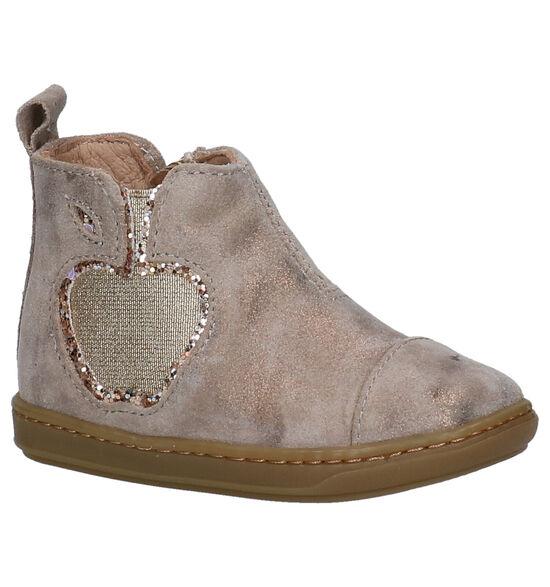 Shoo Pom Bouba Gouden Hoge Schoenen