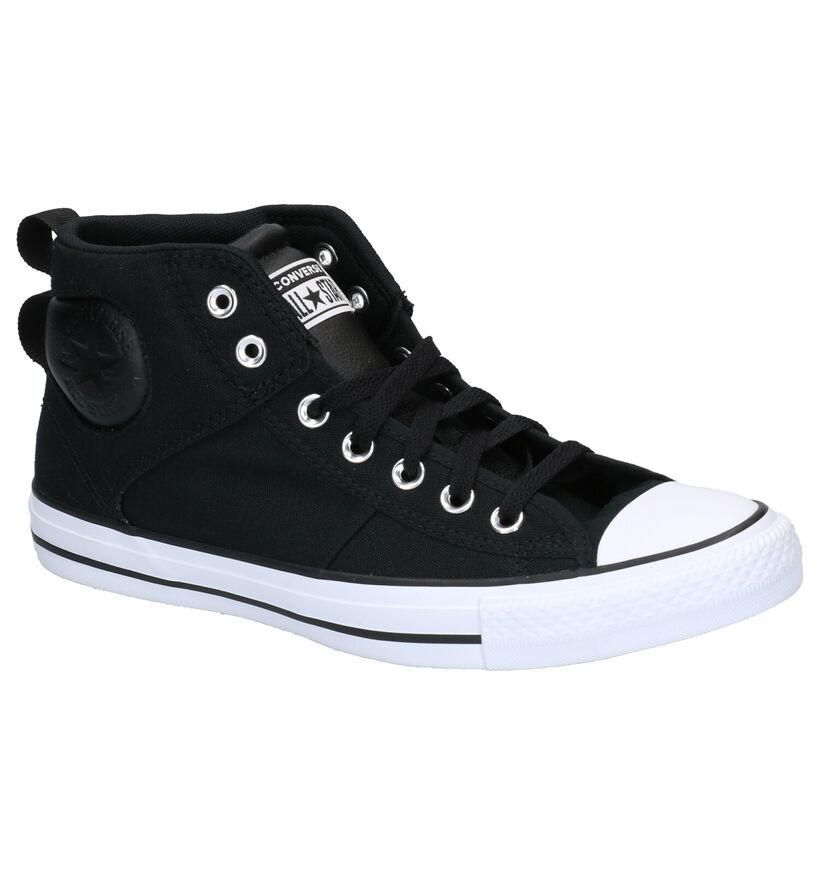 Converse Chuck Taylor AS Zwarte Sneakers in stof (266460)