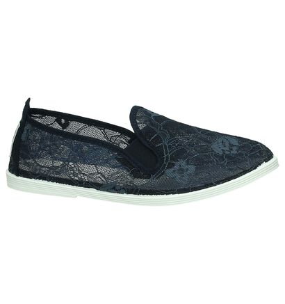Flossy Blauwe Instappers, Blauw, pdp