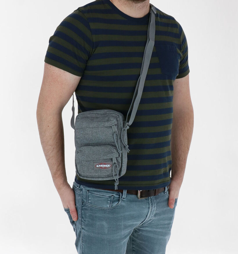 Eastpak The One Doubled Blauwe Crossbody Tas in stof (293873)