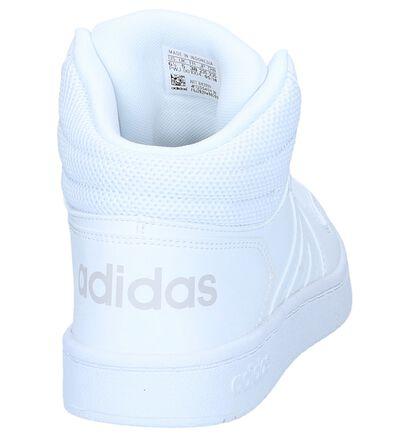 adidas Hoops 2.0 Baskets en Gris en simili cuir (252563)