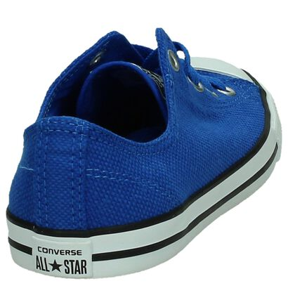 Converse Chuck Taylor All Star Dainty Sneakers Wit, Blauw, pdp