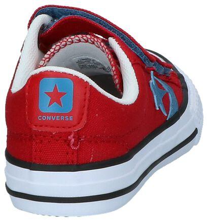 Converse Baskets basses  (Bleu foncé), Rouge, pdp