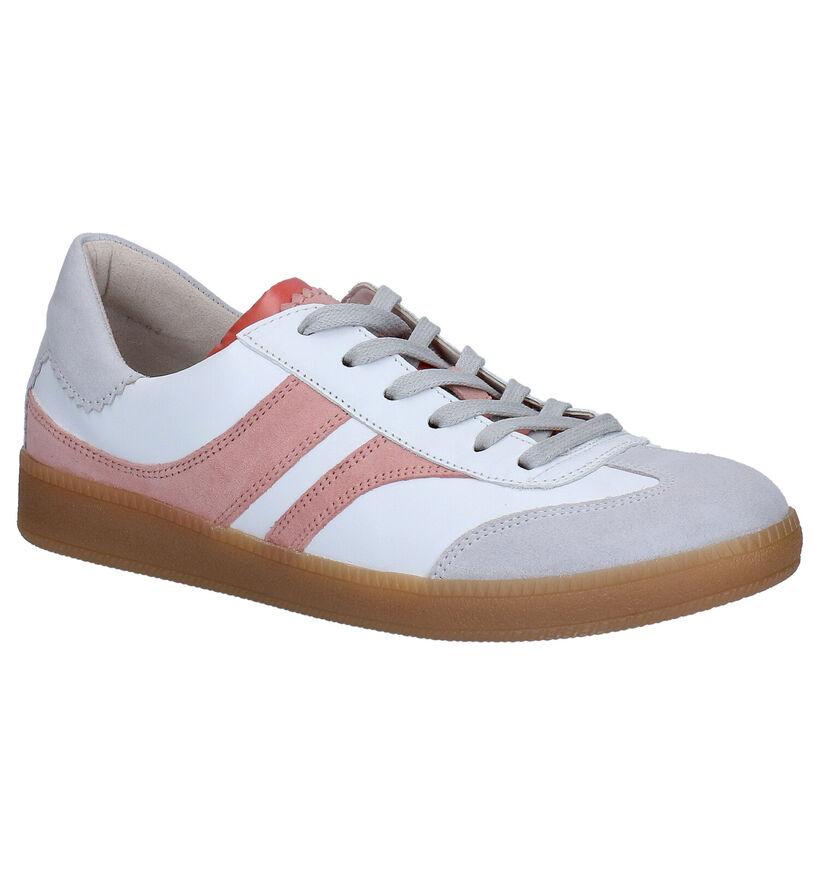 Gabor OptiFit Chaussures à lacets en Blanc en cuir (271553)