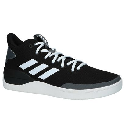 Witte Sneakers adidas Bball 80S in stof (221625)