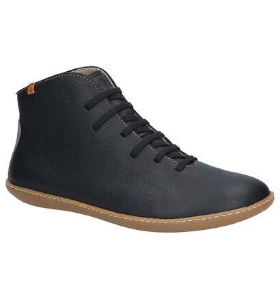 El Naturalista Chaussures hautes en Noir en cuir (259593)