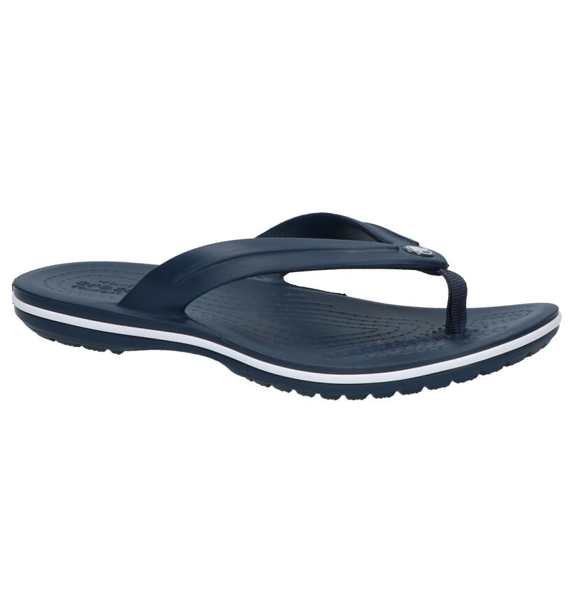 Crocs Crocband Blauwe Teenslippers in kunststof (269661)