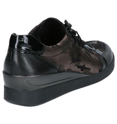 Ara Lazio Chaussures basses en Noir en cuir (260849)