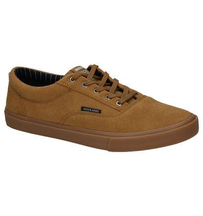 Jack & Jones Vision Skate Sneakers en Noir en daim (256065)