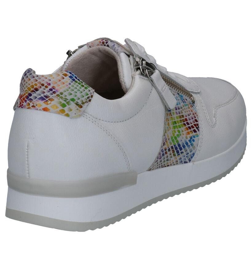 Gabor Best Fitting Chaussures à Lacets en Blanc en cuir (271688)