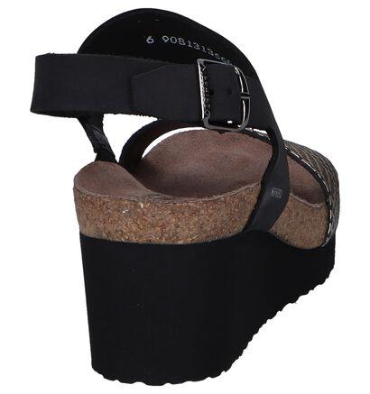 Zwarte Sandalen Mephisto Tenessy, Zwart, pdp