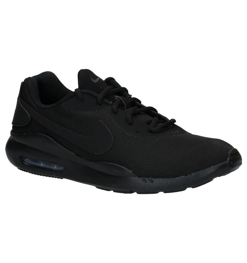 Nike Air Max Baskets en Noir en textile (283877)