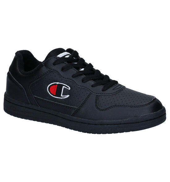 Champion Chicago Basket Low Zwarte Sneakers