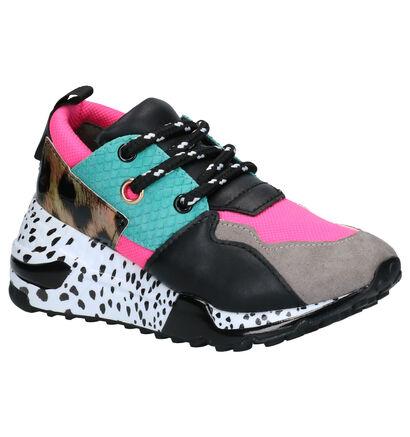 Steve Madden JCliff Multicolor Sneakers in stof (258108)