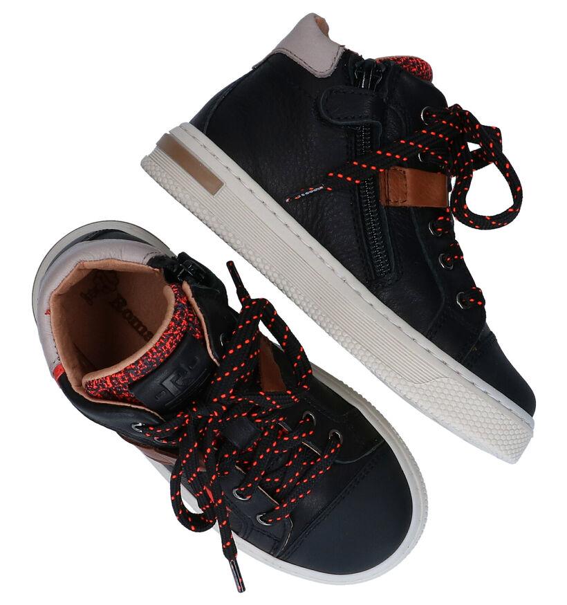 Romagnoli Chaussures hautes en Noir en cuir (281521)