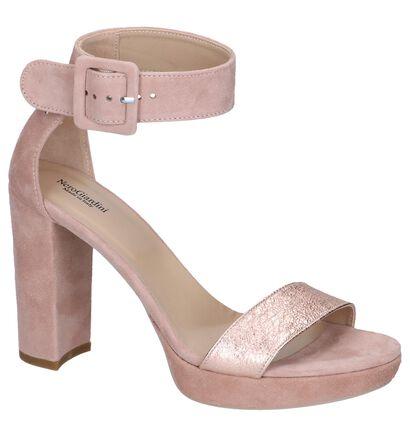 Roze High Heel Sandalen NeroGiardini , Roze, pdp