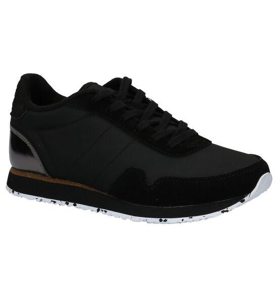 Woden Nora 3 Zwarte Sneakers