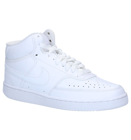 Nike Court Vision Mid Witte Sneakers