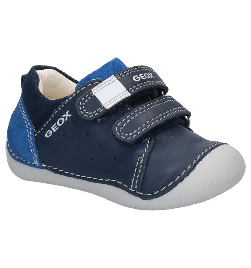 Geox Babyschoenen Blauw in leer (265802)