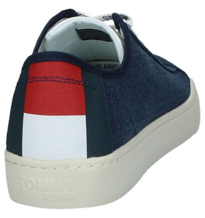 Sneakers Donker Blauw Tommy Hilfiger in stof (221469)
