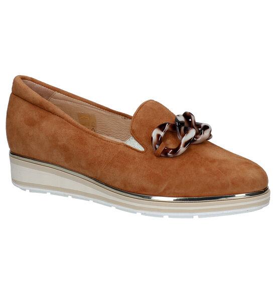 Softwaves Loafers en Cognac