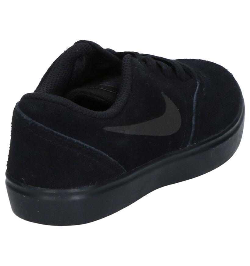 Nike SB Check Zwarte Sneakers in daim (254086)