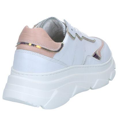 NeroGiardini Witte Sneakers in leer (274393)