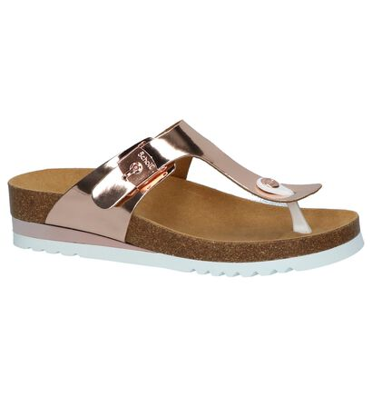 Scholl Glam Teenslippers Rose Gold, Roze, pdp
