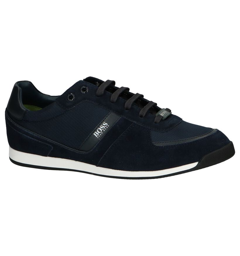 Hugo Boss Chaussures basses en Noir en cuir (240854)