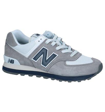 Grijze Sneakers New Balance ML 574, Grijs, pdp