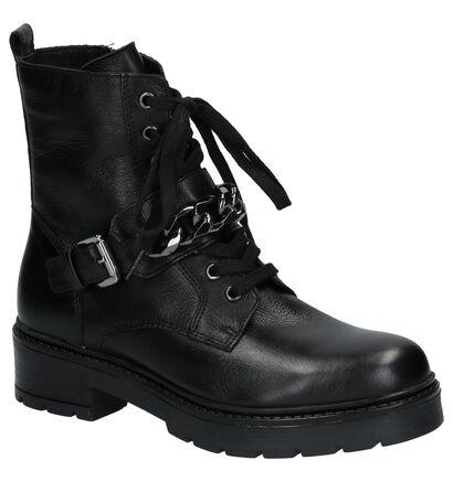 Via Limone Zwarte Boots in leer (258780)