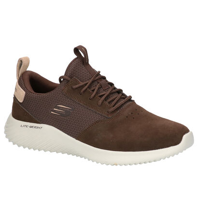 Skechers Zwarte Sneakers in daim (262782)