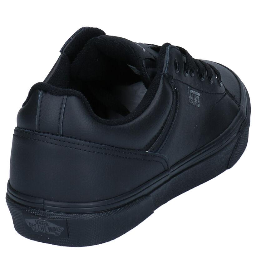 Vans Seldan Baskets en Noir en simili cuir (277682)