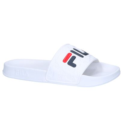 Witte Badslippers Fila Boardwalk , Wit, pdp