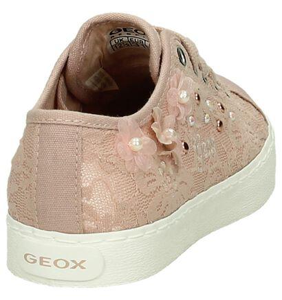 Geox Baskets basses  (Blanc), Rose, pdp