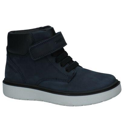 Cognac Boots Geox Waterproof, Blauw, pdp
