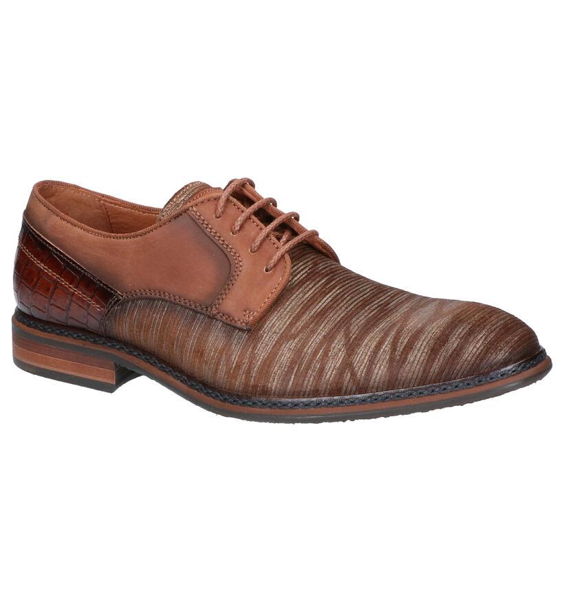 Braend Chaussures habillées en Cognac en cuir (261045)