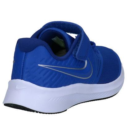 Nike Star Runner 2 PS Blauwe Sportschoenen in stof (263256)