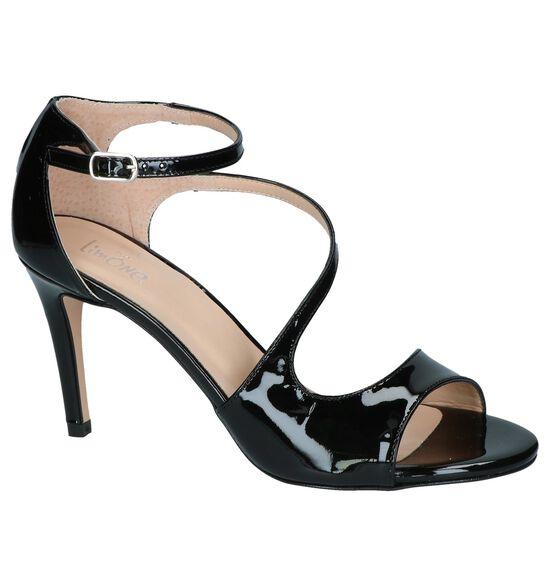 Zwarte Sandalen Via Limone