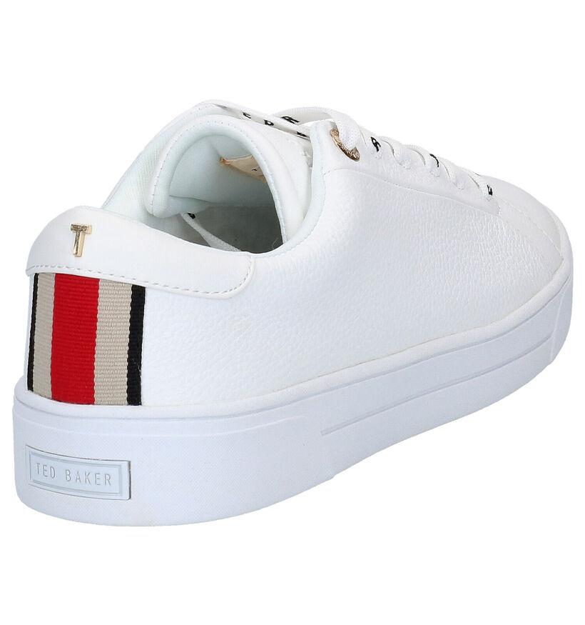 Ted Baker Merata Baskets en Blanc en cuir (269411)