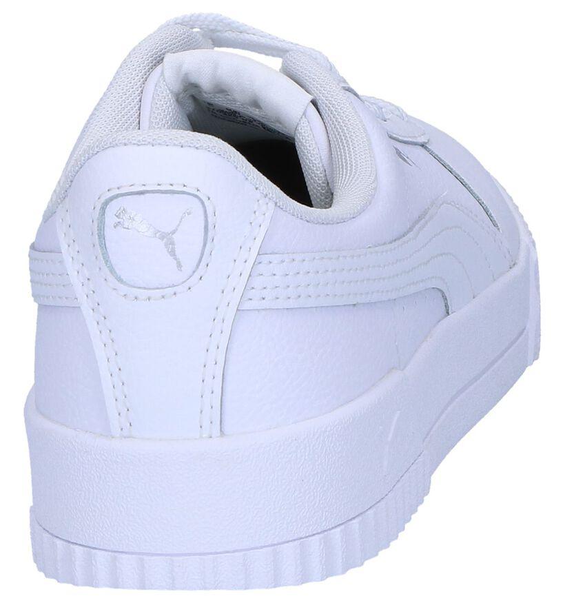 Puma Carina Sneakers Wit in faux fur (265517)