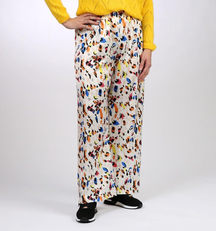 Latino Pantalons larges en Multicolore