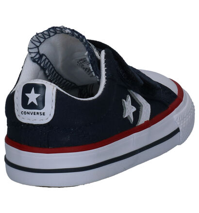 Converse Star Player Sneakers Blauw in stof (266018)