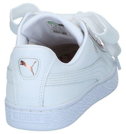 Puma Baskets basses en Blanc en cuir (221666)
