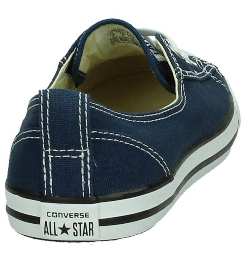 Converse CT All Star Ballet Witte Slip-on Sneakers in stof (171689)