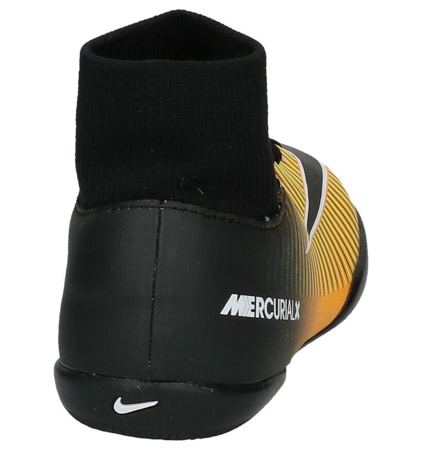 Mercurial Chaussures de foot en Orange clair en simili cuir (200172)