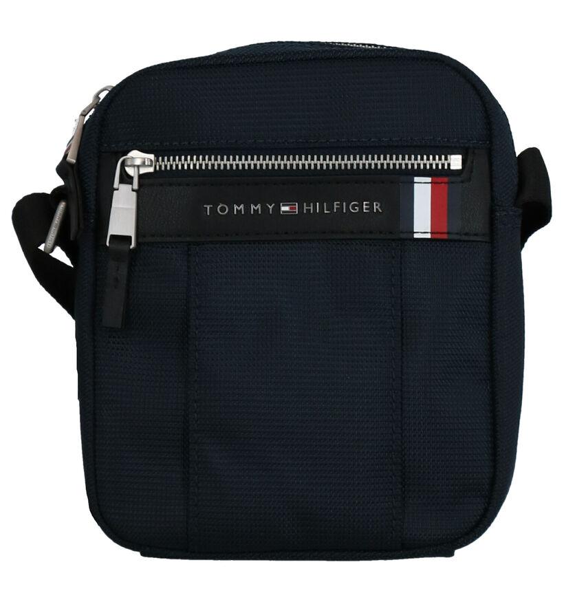 Tommy Hilfiger Sac porté croisé en Bleu en textile (268744)