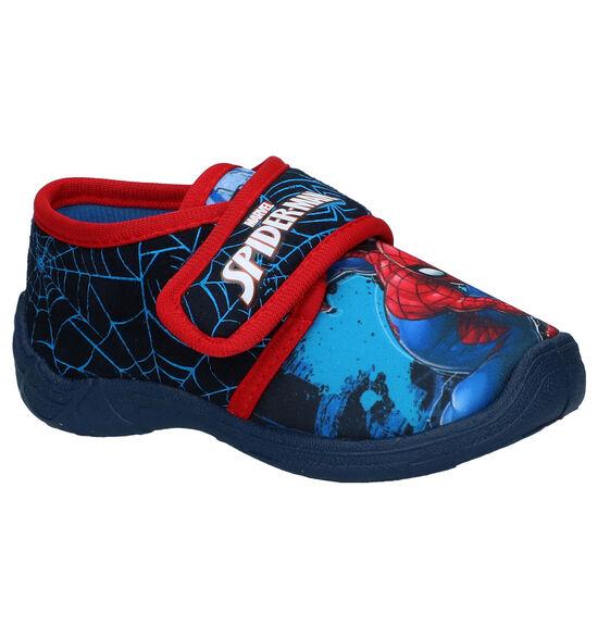 Spiderman Blauwe Pantoffels